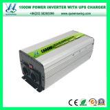 1500W DC12V/24V AC110V/220V UPS-Aufladeeinheits-Energien-Inverter Inversor Cargador (QW-M1500UPS)