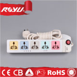 Convenience 5 Outlet Universal Power Strip / Individual Switch Design