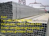 Q195, tubo cuadrado de acero laminado en caliente Q235 para el uso de la industria