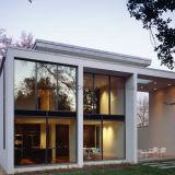 A extrusão de alumínio do OEM perfila porta de vidro fixa