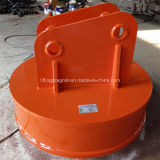 Aimant de levage circulaire pour l'excavatrice traitant les rebuts (ISO9001 : 2008)