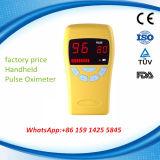 O oxímetro paciente Handheld o mais barato do pulso para a venda inteira (MSLPO-AV)