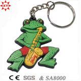 Porte-clés PVC pour cadeau de promotion avec porte-clés