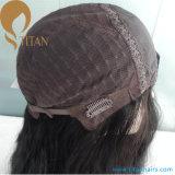 Cabello Top calidad superior de seda del pelo humano virginal judía peluca para la Mujer
