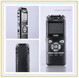 Enregistreur vocal sonore d'enregistreur avec le lecteur MP3 pour le contact/étude (ID8827)