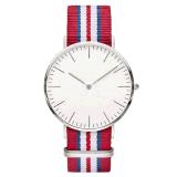 Het klassieke Horloge van het Kwarts Dw, Horloge hl-BG-094 van het Roestvrij staal van de Manier