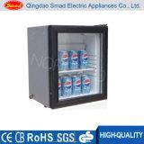 refrigerador de vidro do Minibar do hotel da porta 12V