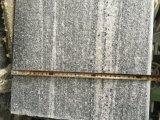 De beste Tegel van het Graniet van Nero Santiago van de Kwaliteit Grijze Gevlamde