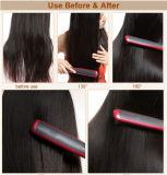 Aquecimento novo LCD de 2016 PTC que endireita a escova do Straightener do cabelo