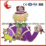 Liberar el Pin de seguridad suave del clip de la divisa del esmalte de la alta calidad del diseño