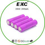 Hohe elektronische Zigaretten-Batterien 30A Abfluss Li-Ionsammlerzellen Fahrwerk-18650 HD2 2000mAh 3.65V