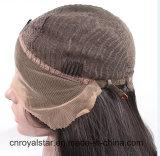 Del grado 2016 della parte anteriore del merletto dei capelli parrucca sintetica riccia superiore lungamente