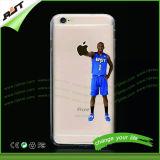 As estrelas de basquetebol do fornecedor de China imprimiram a tampa do telefone móvel de TPU para o iPhone 6