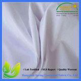 TPU a feuilleté plein blanc imperméabilise le tissu 100 tricoté par polyester
