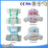 Constructeur remplaçable mou de couches-culottes de bébé