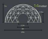 Tenda della cupola per il partito esterno