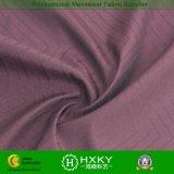 Tela tejida del telar jacquar del poliester con la tela hecha punto para las ropas
