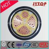 0.6/1 3+1 des Kern-XLPE Isolierungs-KV des Kabel-, PVC/PE Hüllen-Energien-kupfernes Kabel