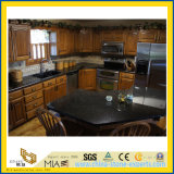 Polished Absolute Black Pearl Granite Countertop for Kitchen