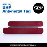 Estrangeiro H4 do Tag da freqüência ultraelevada da resistência do metal passivo de RFID