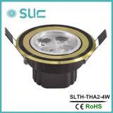 O diodo emissor de luz por atacado da exposição 3W ilumina-se para baixo com vida longa Slth-Tha2-3W