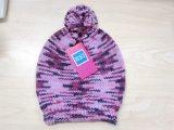 Шлем способа малыша цветастые светя связанные & шарф & перчатки на зима
