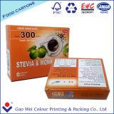2016 Custom Logo impresso descartável papel reciclado caixa de embalagem