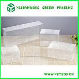 Premières boîtes-cadeau de empaquetage d'étalage de repli en plastique clair de PVC