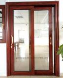 Puerta deslizante de la rotura de la alta calidad del marco de aluminio termal del perfil