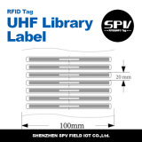 本管理のためのISO18000-Cモンツァ4 UHFライブラリ札
