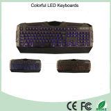 2015 Новый дизайн Три цвета светодиодные механического типа игровой клавиатуры