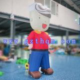子供のマンガのキャラクタの膨脹可能なモデル