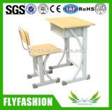 Única mesa de madeira combinado do estudante e cadeira (SF-101S)