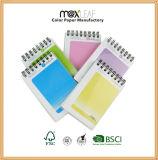 Fornecedor de China para almofada de memorando ajustada do Hardcover da escola dos artigos de papelaria superiores do caderno espiral