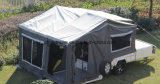 Suspension independente Rear Folding Camper Trailer com o Tent em Austrália