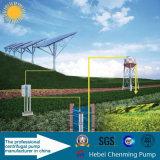 Sistema sommergibile solare della pompa ad acqua di CC della pompa centrifuga di teoria e di energia elettrica