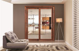 Qualität Make in China Hollow Aluminum Sliding Door Price für Hotel Bathroom 2301