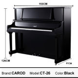 Piano Polished noir CT26 vertical