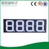 Muestra de la pantalla del precio de la gasolina del LED