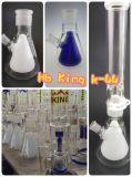 Do cachimbo de água de vidro alto o mais novo de Shisha do cinzeiro do ofício da bacia da cor do tabaco do reciclador de Hbking tubulação de água de fumo de vidro