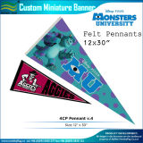 Dreieck Wool Felt Pennants für Wholesale (M-NF12F13016)