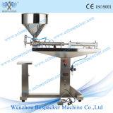 Machine de remplissage de bouteilles manuelle Semi-Automatique pneumatique d'acier inoxydable