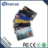 Aandrijving van de Flits van de Creditcard USB van de Prijs van de Fabriek van de douane de Promotie Super Dunne