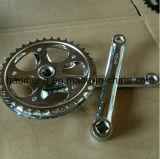 La bicyclette partie Chainwheel/manivelle en aluminium de Chainwheel/bon marché Chainwheel et manivelle