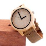 Relógio de forma de madeira Bg453 do movimento novo de Japão da proteção ambiental