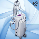 Cavitation+Vacuum Liposuction+Bipolar RF+Roller amincissant le ce multifonctionnel de machine de beauté