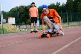 نمط 4 عجلة لوح التزلج كهربائيّة ذكيّة