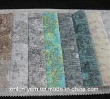 100%Polyester украшение Liene Flocking ткань для софы