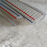 PVC 플라스틱 철강선 강화된 호스 물 정원 유압 기업 관 관 호스