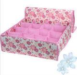 Caja plegable de recogida casera de Cardborad de la tela no tejida del tamaño medio